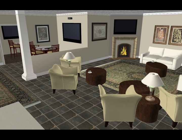 Inspiration Area Of Design Center 3D Interior Software