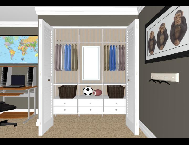Space Pro Flex Closet 3dream Net