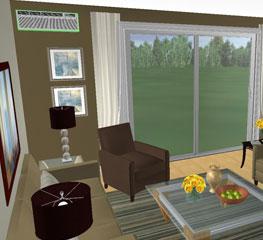 Living Room 3d Design 3dream - online 3d room planner for interior design & space