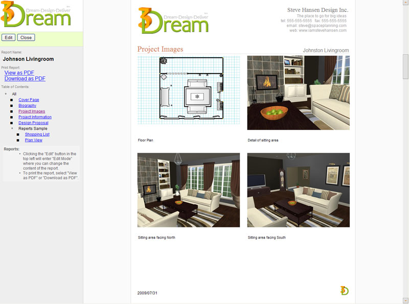 Details For Interior Designers Decorators And Home Stagers 3dreamnet