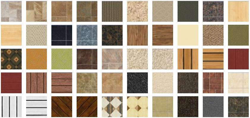 Features Flooring Textures