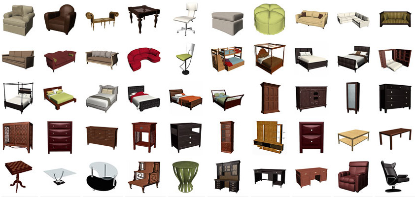 Features Furniture Items